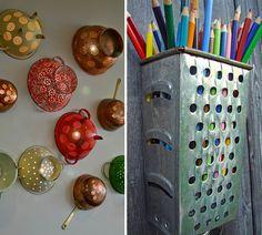 25+ Creative Ways To Repurpose Old Kitchen Stuff