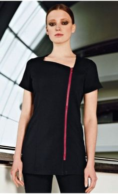 Feature Zip Tunic