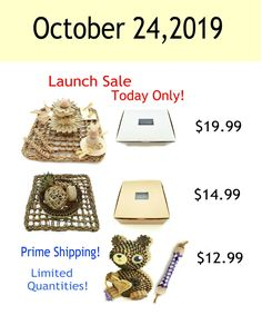 Launch Sale Today Only! Great gifts for furbabies!