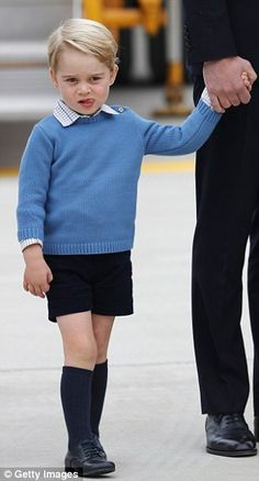 The third in line to the throne was wearing the same outfit that he wore to visit the Lind...