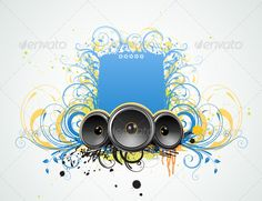 abstract party frame #GraphicRiver Vector illustration of funky Grunge Decorative music frame. Zip file contains fully editable EPS8 vector file and high resolution RGB Jpeg image. Created: 15February13 GraphicsFilesIncluded: JPGImage #VectorEPS Layered: No MinimumAdobeCSVersion: CS Tags: abstract #art #audio #background #decoration #design #dirty #disco #element #floral #flower #frame #funky #graphic #grunge #illustration #modern #music #musical #party #pattern #retro #shape #silhouette…