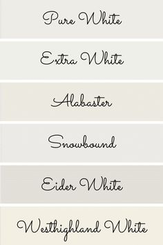 The Best White Paint Colors from Sherwin Williams Nursery Paint Colors, Neutral Paint Colors, Exterior Paint Colors, Paint Colors For Home, Greige Paint Colors, Best Bedroom Colors, Best White Paint, White Paints, Karim Rashid