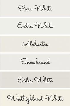 Nursery Paint Colors, Neutral Paint Colors, Interior Paint Colors, Paint Colors For Home, Paints For Home, Bear Paint Colors, Best Bedroom Colors, Off White Paints, Best White Paint