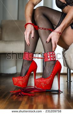 Find armlet stock images in HD and millions of other royalty-free stock photos, illustrations and vectors in the Shutterstock collection. Thousands of new, high-quality pictures added every day. Red High Heels, Hot Heels, Sexy Stockings, Boudoir, Sexy Women, Meet, Women's Fashion, Stock Photos, Boots
