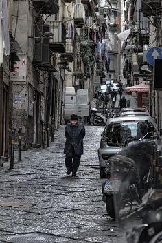 Spanish Quarter of Naples, Italy