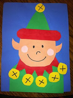 ELF project with a list of books about Elves to use in classroom