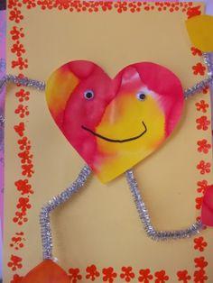 school valentines cards for kids School Valentines Treats, Preschool Valentine Crafts, Kinder Valentines, Valentines For Kids, Valentine Cards, Valentine's Cards For Kids, School Videos, Pipe Cleaners, Coffee Filters