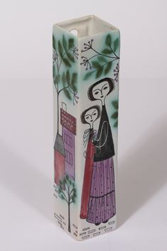 Kupittaan savi, Laila Zink Porcelain Ceramics, Ceramic Pottery, Ceramic Design, Vintage Textiles, Ceramic Artists, Vintage Love, Vintage Ceramic, Book Illustration, Scandinavian Design