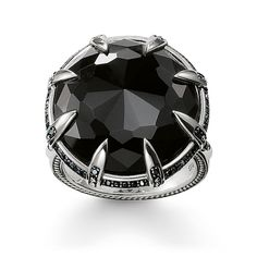 77cd07276 THOMAS SABO Ring from the Sterling Silver Collection. Enveloped by  adventurous talons, the mystical
