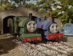 Wooden Train, Title Card, Thomas The Tank, Old Video, Thomas And Friends, Cheer Up, Happy Endings, Behind The Scenes, Mystery