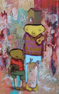 os gemeos http://www.widewalls.ch/artist/os-gemeos/ #osgemeos