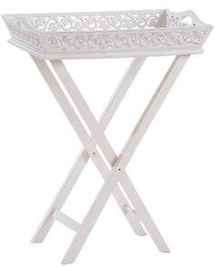 Masuta cu Tava Romantic MDF 72x36x57 cm Vanity Bench, Best Sellers, Entryway Tables, Romantic, Living Room, Interior, Furniture, Home Decor, Decoration Home