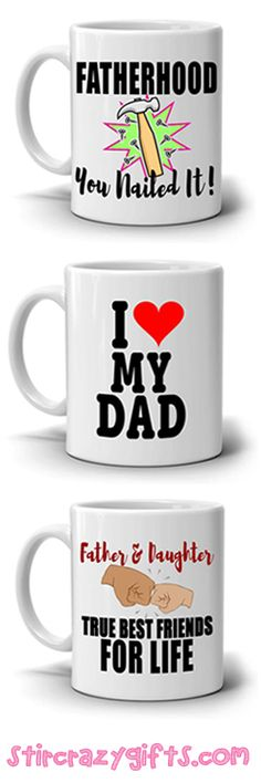 GRADE A+ HIGH QUALITY 11oz CERAMIC MUG - Safe for extreme hot and cold beverages. Perfect gift from daughter to father, dad, papa, daddy, pops and grandpa birthday anniversary.