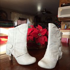 Not Rated boots size 9 Very nice boots!! Wore one time outside my home. Just don't wear enough. They need a good home! Not Rated Shoes Ankle Boots & Booties