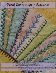 bead embroidery stitches