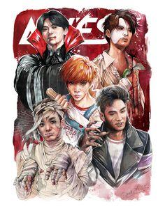 Nu'est Jr, Nu Est, Kpop Fanart, Kaneki, Memes, Boy Groups, Art Drawings, Wattpad, Fan Art