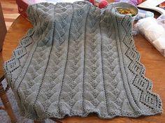 Ravelry: Heirloom Treasure Baby Blanket pattern by Luise O'Neill