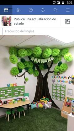 Classroom decor - 26 Fun and Easy Activities and Crafts for Kids on Cold Winter Days MyKingList com New Classroom, Classroom Setting, Classroom Design, Classroom Displays, Classroom Themes, Forest Theme Classroom, Preschool Classroom Decor, Preschool Decorations, Rainforest Classroom
