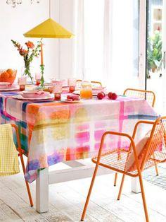 Leuk tafelkleed!!! Ergens kopen of zelf maken? Kim Timmerman | | Stylist