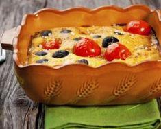 Clafoutis de légumes par Marie : http://www.fourchette-et-bikini.fr/recettes/recettes-minceur/clafoutis-de-legumes-par-marie.html