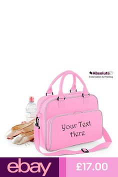 b2f9ee36be35 Personalised Ballet Dance Holdall Bag Modern Theatre Show Stage Gymnastics