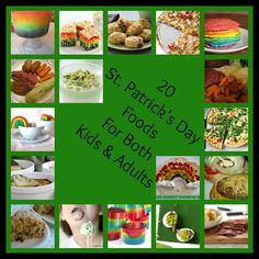 Top 20 St. Patrick's Day Foods For Both Kids & Adults