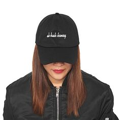 Uh Huh Honey Embroidered Dad Hat 100% Cotton Baseball Cap For Men And Women