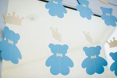 Chá de Bebê | Urso Príncipe