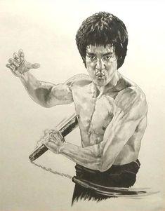 Arte Bruce Lee, Eminem, Bruce Lee Master, Bruce Lee Collection, Bruce Lee Pictures, Bruce Lee Martial Arts, Sexy Black Art, Kelly Hu, Legendary Dragons