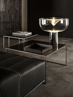 Duchamp Bronze table by Minotti —