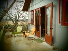 cute studio on the blanco river in wimberley- montesino ranch $125/nt