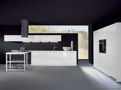 Modern White Kitchen Cabinets  #10 (Alno.com, Kitchen-Design-Ideas.org)