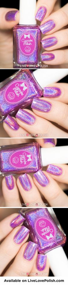 Cupcake Polish Chicago <3 http://www.livelovepolish.com/products/cupcake-polish-chicago-nail-polish