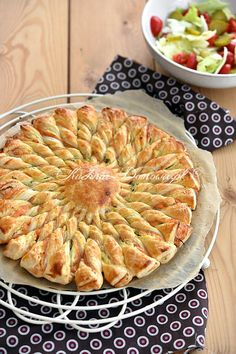 New Years Eve Snacks, Quiches, Homemade Pastries, Breakfast Lunch Dinner, Seafood Dishes, Savoury Cake, Tasty Dishes, Finger Foods, Italian Recipes