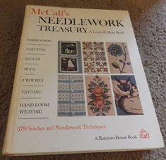 McCall's Needlework Treasury:A Learn and Make Book (1964, Hardback)