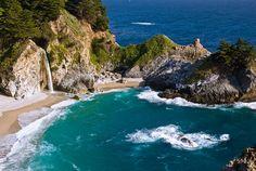 McWay Cove, Big Sur, Julia Pfeiffer Burns State Park, Monterey County, California, USA