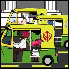 Ninjacat Vistis India Auto Rickshaw Ninjacat designed by Nina Garman. Connect with them on Dribbble; Hussain Karbala, Cat Stickers, Saint Charles, Show And Tell, India Travel, Family Guy, Bubble, Artwork, Fictional Characters