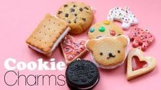 Scented Cookie Charms, via YouTube.