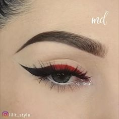 Makeup Eye Looks, Eye Makeup Steps, Beautiful Eye Makeup, Dramatic Makeup, Eyebrow Makeup, Eyeshadow Makeup, Amazing Makeup, Makeup Eyes, Goth Eye Makeup