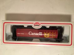"""HO Scale """"Government Of Canada"""" CNWX 110266 Cylindrical Hopper Freight Train #ModelPower"""