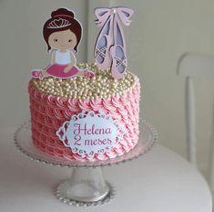 New birthday cake kids girls easy ideas New Birthday Cake, Birthday Cakes For Women, Diy Birthday Decorations, Birthday Crafts, Birthday Recipes, Paper Cake, Cake Art, Man Party Foods, Best Birthday Surprises