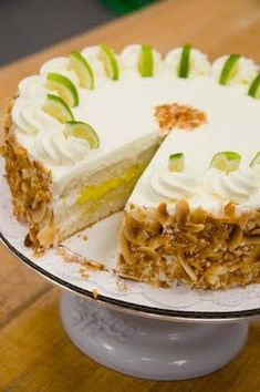 Sweet Treats: pastry, photography, life: Key Lime & Coconut Cake: Practice Makes Perfect. sort of.