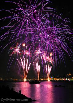 Fascinatingly Pretty Purplish  Fireworks