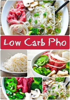 Low Carb Pho with Shiritaki Noodles