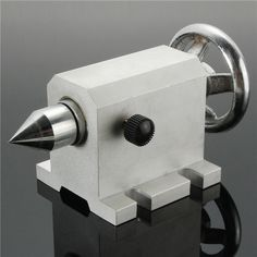 80mm CNC Tailstock Chuck for Rotary Axis A Axis 4th Axis CNC Router Machine