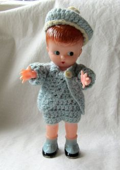 Doll Head with Beanie Hat 4 12 inches tall With Socks Shoes  Legs  3 inch  Light Brown Blonde  Hair Not a toy not for small children