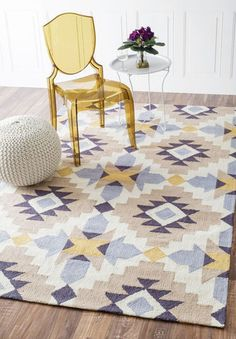 nuLOOM Hand Hooked Terica Area Rug | Contemporary,South Western Rugs