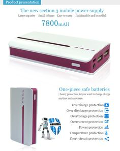 MAI-301 7800MAH The new section 3 mobile power supply FOR iPhone 5 5S 5C/iPad 4 Mini Air - See more at: http://www.maidipower.com/7800mah-the-new-section-mobile-power-supply.html#sthash.niLxmEA6.dpuf