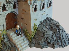 lego lord of the rings 11 Exotic Names, Lego Tree, Lego Knights, Brick In The Wall, Lego Modular, Lego Castle, Cool Lego Creations, Lego Design, Lego Architecture