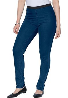 00e4f120b4b Jessica London Women s Plus Size Tall Stretch Denim Jeggings     You can  get more